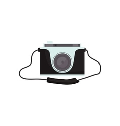 Vintage photographic camera vector image