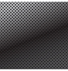 pattern of perforation metal background vector image