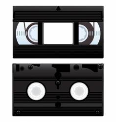 video cassette vector image