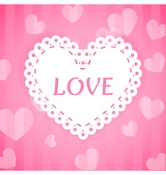 Love heart 1 vector