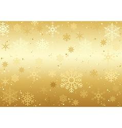 Christmas Snowflakes Texture vector image