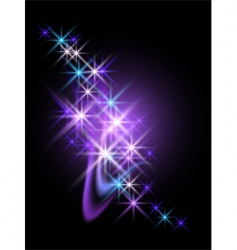 Abstract starlight design vector