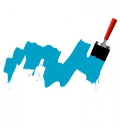 brush marks vector image