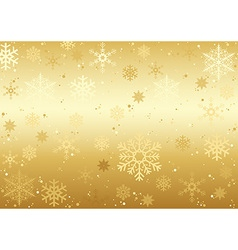 Christmas Snowflakes Texture vector image vector image