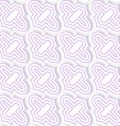 Colored 3d purple diagonal marrakech vector