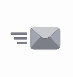 contact envelope letter mail post send icon vector image