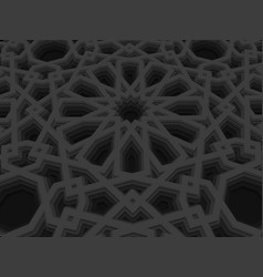 Abstract volumetric geometric vector
