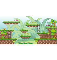2d tileset platform game 27 vector