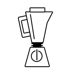 Blender kitchen appliance outline vector