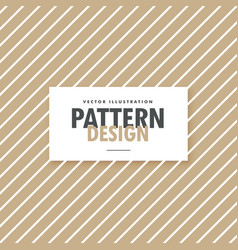 Brown and white minimal pattern background vector