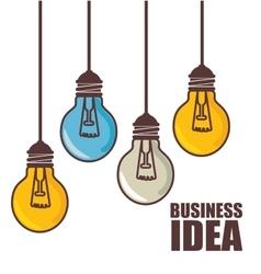 business idea design vector image