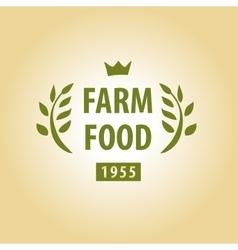 Logo for farming vector