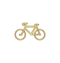 Mountain bike computer symbol vector