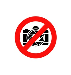 photography restricted vector image vector image