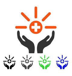 Pharmacy distribution service flat icon vector