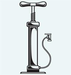Automobile air-pump vector image vector image