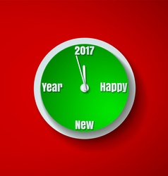 Countdown to new year 2017 paper cut background vector