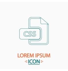 Css computer symbol vector