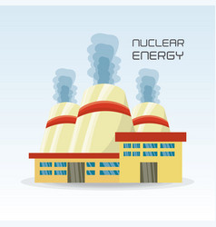 Flat concept nuclear plant generator energy vector