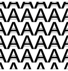 Pattern letter a vector