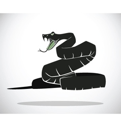 snake A vector image