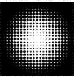 A halftone pattern vector