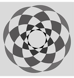 Abstract circular form vector image vector image