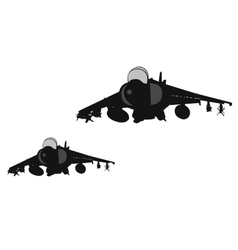 Air strike vector image vector image