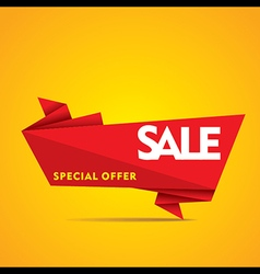 limited time offer sale on everything banner vector image vector image