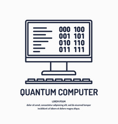 Quantum computer analysis and data transfer vector