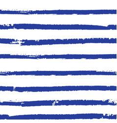 sailor striped seamless pattern vector image vector image