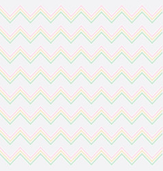 zigzag seamless pattern design vector image