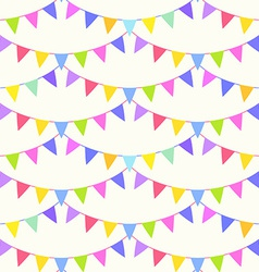 Garland pattern vector