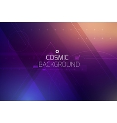 Cosmic shining abstract background vector