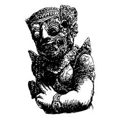 Balinese Giant vector image