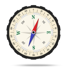Classic compass isolated vector