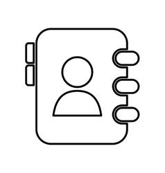 Agend icon social media design graphic vector