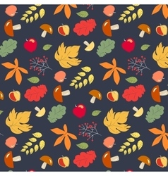 Autumn design pattern vector image vector image