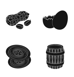 Cooking art and other web icon in black style vector
