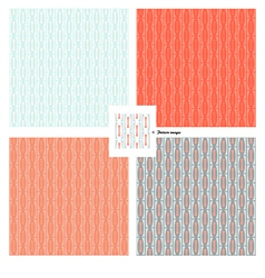 pattern wallpaper retro vector image vector image