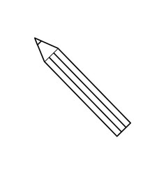 Pencil icon image vector