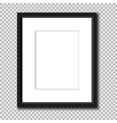 Photo frame isolated vector image vector image
