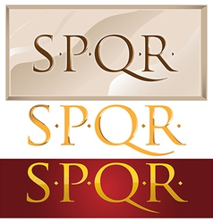 Romans symbol vector