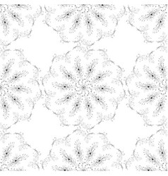 Seamless texture pattern art flowers vector