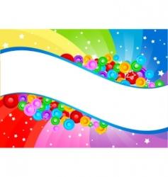 Vector swirl abstract background vector