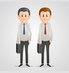 Office men vector