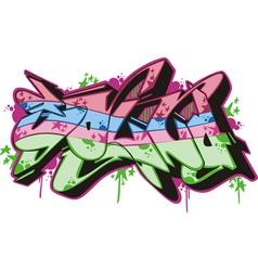Graffito - sound vector