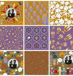 Halloween pattern 001 vector