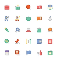Shopping icons 4 vector