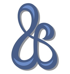 Ampersand symbol1 resize vector